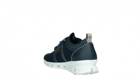 wolky lace up shoes 02052 tera 90800 blue knitting_17