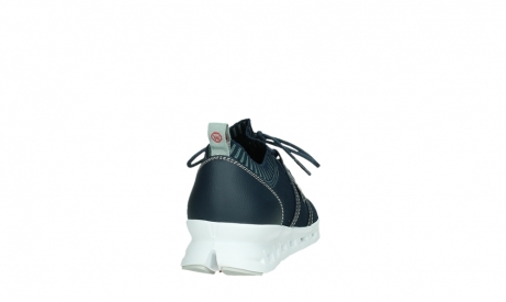 wolky lace up shoes 02052 tera 90800 blue knitting_20