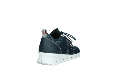 wolky lace up shoes 02052 tera 90800 blue knitting_21
