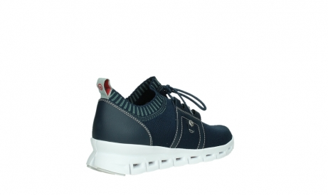 wolky lace up shoes 02052 tera 90800 blue knitting_22