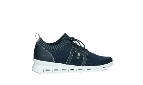 wolky lace up shoes 02052 tera 90800 blue knitting_24