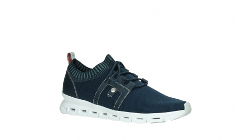 wolky lace up shoes 02052 tera 90800 blue knitting_3
