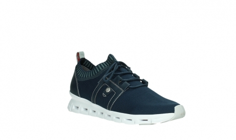 wolky lace up shoes 02052 tera 90800 blue knitting_4