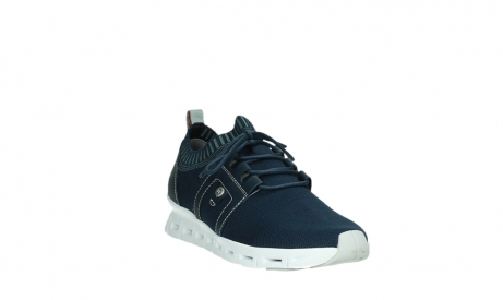 wolky lace up shoes 02052 tera 90800 blue knitting_5