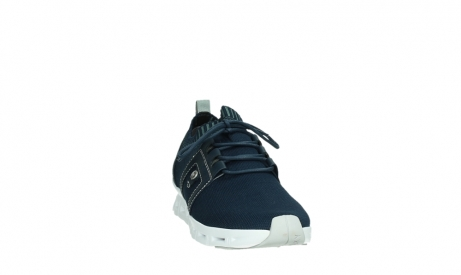 wolky lace up shoes 02052 tera 90800 blue knitting_6