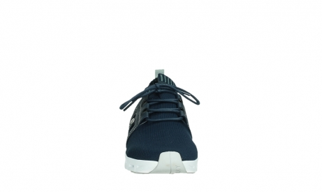 wolky lace up shoes 02052 tera 90800 blue knitting_7