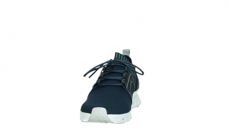 wolky lace up shoes 02052 tera 90800 blue knitting_8