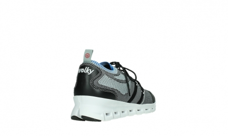 wolky lace up shoes 02054 nero 90008 black blue knitting_21