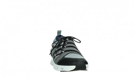 wolky lace up shoes 02054 nero 90008 black blue knitting_6