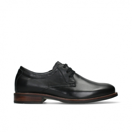 wolky lace up shoes 02180 santiago 20000 black leather