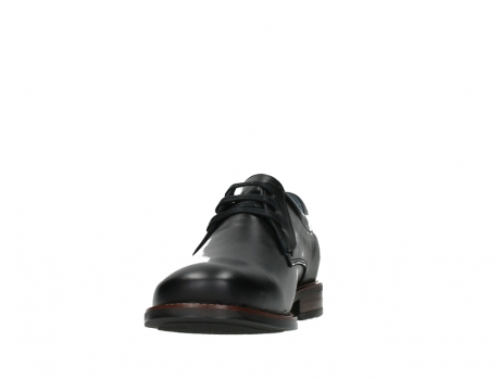 wolky lace up shoes 02180 santiago 20000 black leather_8
