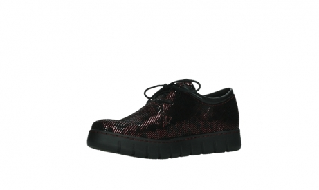 wolky lace up shoes 02325 vic 47505 red suede_11