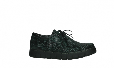 wolky chaussures a lacets 02325 vic 47715 daim vert_2