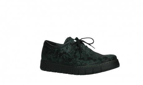 wolky lace up shoes 02325 vic 47715 green suede_3