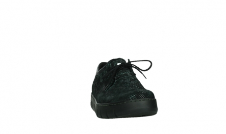 wolky chaussures a lacets 02325 vic 47715 daim vert_6