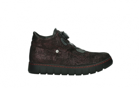 wolky lace up shoes 02326 rap 43510 bordo metal suede_1