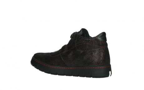 wolky lace up shoes 02326 rap 43510 bordo metal suede_15