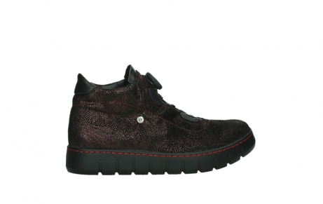 wolky lace up shoes 02326 rap 43510 bordo metal suede_24