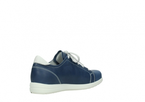 wolky chaussures a lacets 02420 kinetic 30840 cuir bleu denim_10