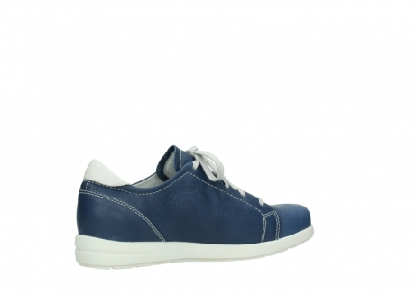 wolky chaussures a lacets 02420 kinetic 30840 cuir bleu denim_11