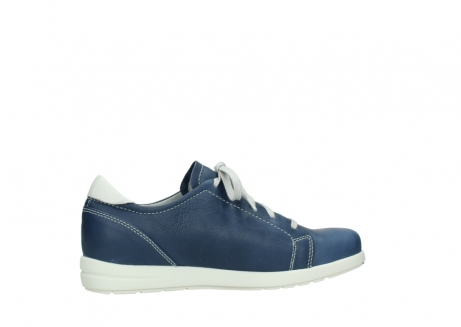 wolky lace up shoes 02420 kinetic 30840 jeans blue leather_12