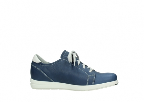 wolky lace up shoes 02420 kinetic 30840 jeans blue leather_14