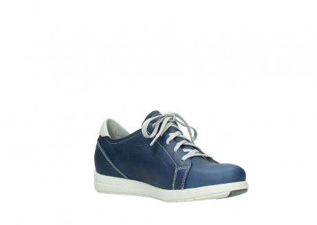 wolky chaussures a lacets 02420 kinetic 30840 cuir bleu denim_16