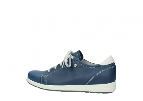 wolky chaussures a lacets 02420 kinetic 30840 cuir bleu denim_2
