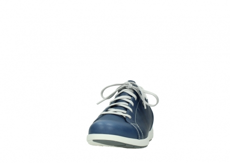 wolky chaussures a lacets 02420 kinetic 30840 cuir bleu denim_20