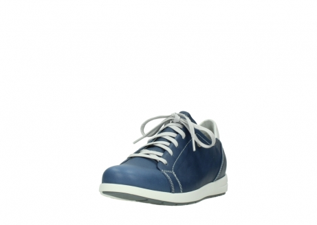 wolky chaussures a lacets 02420 kinetic 30840 cuir bleu denim_21