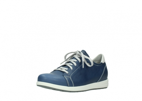 wolky chaussures a lacets 02420 kinetic 30840 cuir bleu denim_22