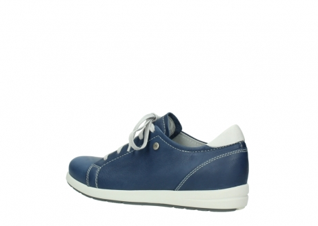 wolky chaussures a lacets 02420 kinetic 30840 cuir bleu denim_3