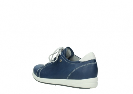wolky chaussures a lacets 02420 kinetic 30840 cuir bleu denim_4