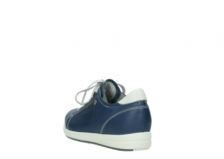 wolky chaussures a lacets 02420 kinetic 30840 cuir bleu denim_5