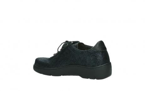 wolky lace up shoes 03250 fantasy 43800 blue metal suede_15