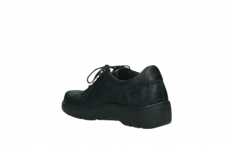 wolky lace up shoes 03250 fantasy 43800 blue metal suede_16