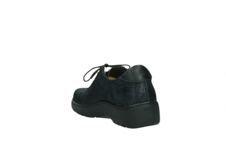 wolky lace up shoes 03250 fantasy 43800 blue metal suede_17