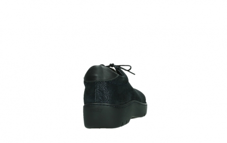 wolky lace up shoes 03250 fantasy 43800 blue metal suede_20