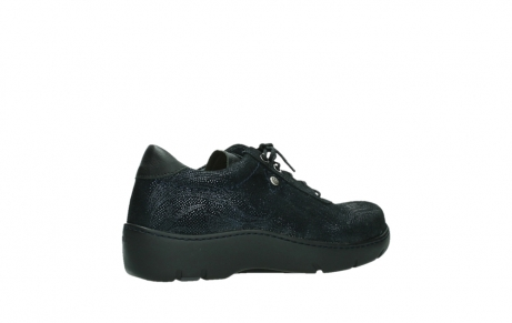 wolky lace up shoes 03250 fantasy 43800 blue metal suede_23