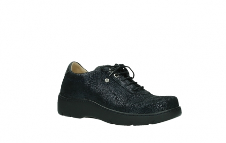 wolky lace up shoes 03250 fantasy 43800 blue metal suede_3