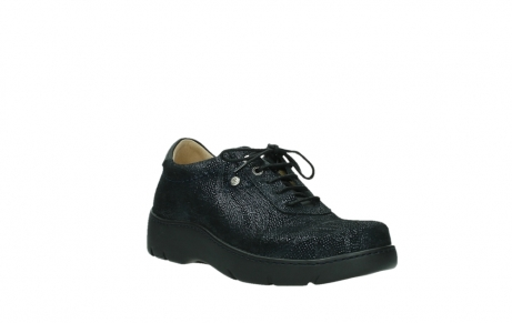 wolky lace up shoes 03250 fantasy 43800 blue metal suede_4