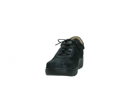 wolky lace up shoes 03250 fantasy 43800 blue metal suede_8