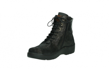 wolky lace up shoes 03252 daydream 43320 bronze metal suede_10