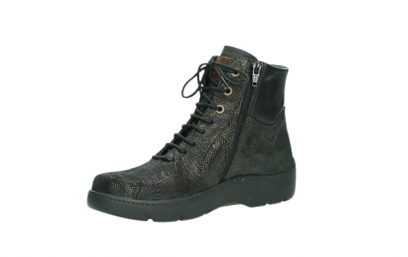 wolky lace up shoes 03252 daydream 43320 bronze metal suede_11