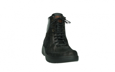 wolky lace up shoes 03252 daydream 43320 bronze metal suede_6