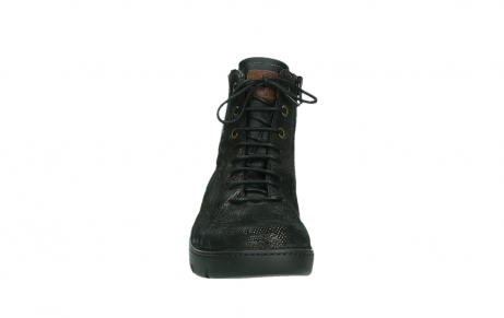 wolky lace up shoes 03252 daydream 43320 bronze metal suede_7