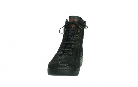 wolky lace up shoes 03252 daydream 43320 bronze metal suede_8