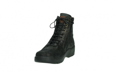wolky lace up shoes 03252 daydream 43320 bronze metal suede_9