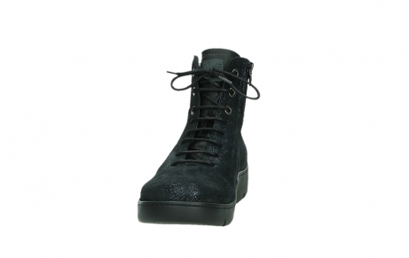 wolky lace up shoes 03252 daydream 43800 blue metal suede_8