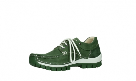 wolky lace up shoes 04701 fly 11720 moss green nubuck_11